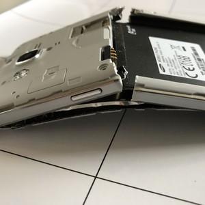 Samsung Galaxy Grand Prime - Ecran explosé - Vue de profil