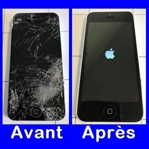 iPhone 5 - Avant/Après